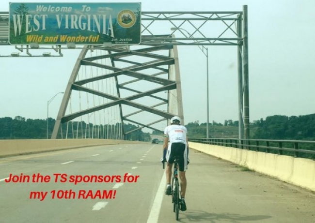 Going to my 10th RAAM!
